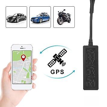 MINKOO- Dispositivo de Seguimiento GPS para Coche, Mini gsm GPRS SMS Localizador Global en