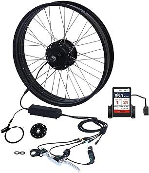 TZIPower Kit de conversión de Bicicleta eléctrica con Pantalla a ...