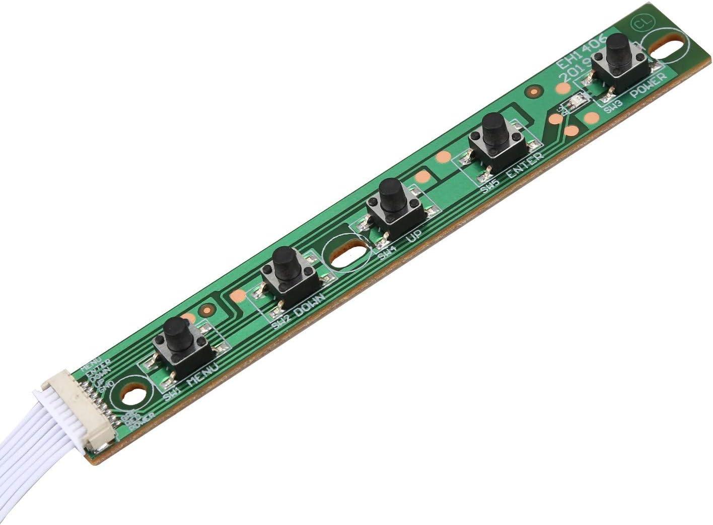 Nrpfell PCB LCD Controller Board Gr/üN 30 Pin EDP HDMI LCD Controller Board 1920X 1080 LED Bildschirm f/ür N173HCE-E31 N173HGE-E11