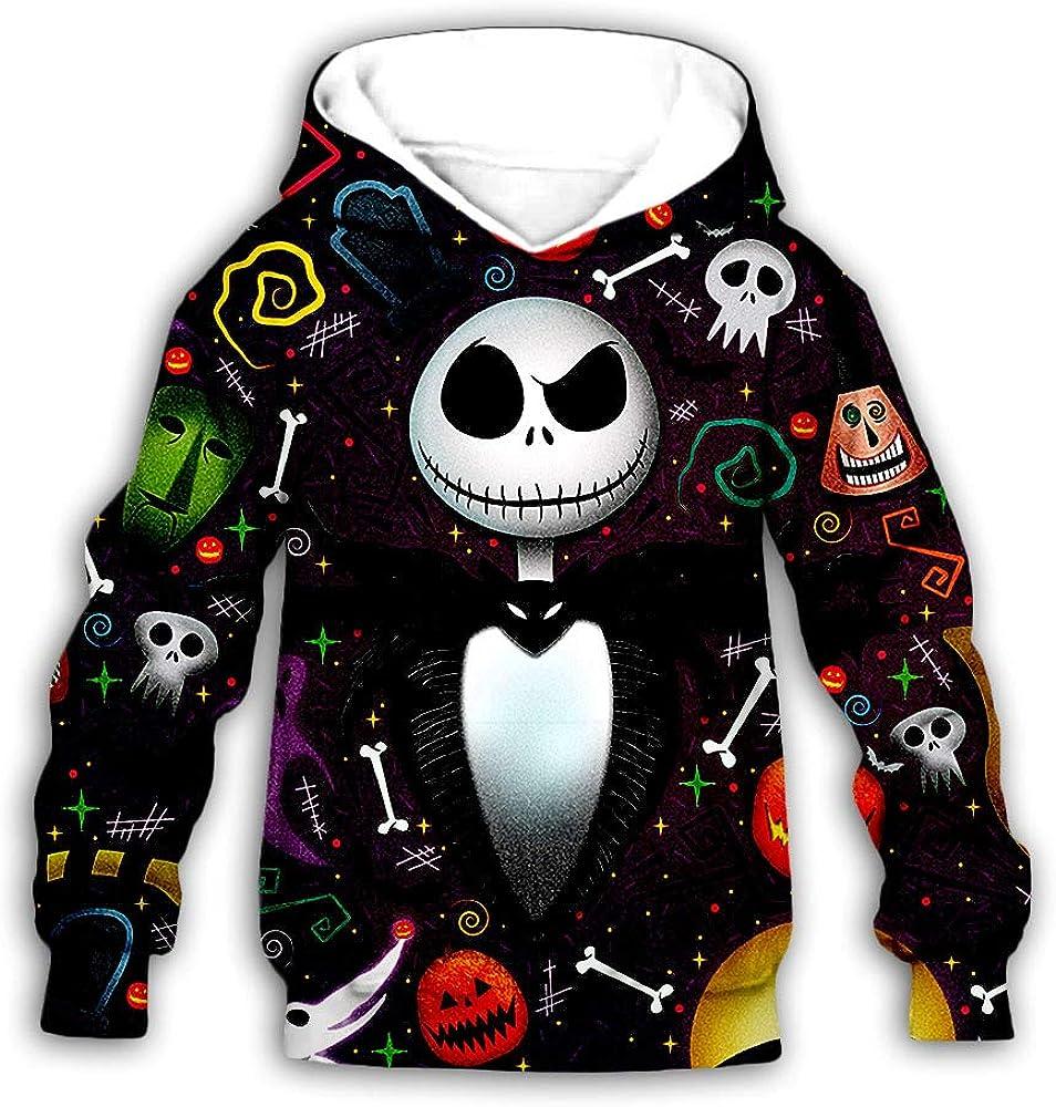 PLstar Cosmos Boy/&Girls Jack Nightmare Christmas Halloween Hoodies