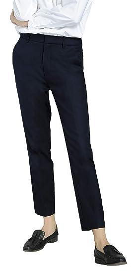 Marycrafts Women s Work Ankle Dress Pants Trousers Slacks XS Dark Blue 1 a38b6aa4e