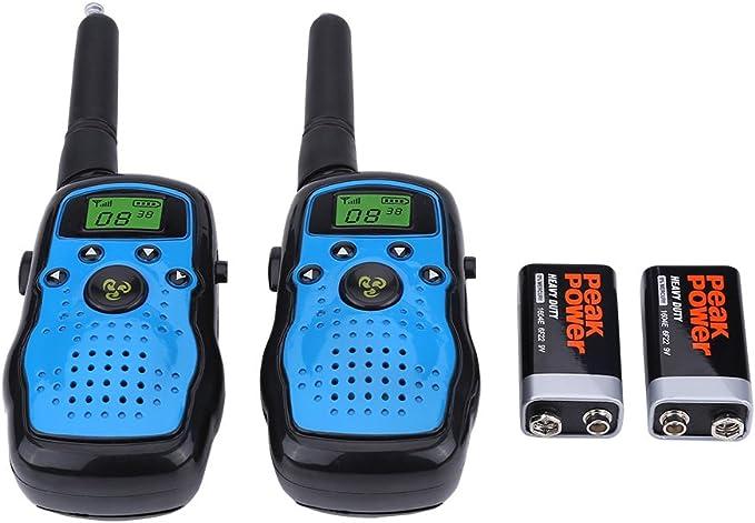 Zerone 2 Pieza Walkie Talkie Niños, Long Range Handheld ...