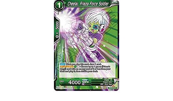 Frieza Force Soldier SD8-05 Cheelai Starter Rare Near Mint Rising