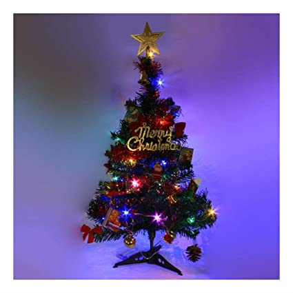 Amazon Com 2 Ft Tabletop Artificial Small Mini Christmas Tree With