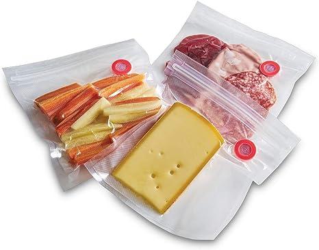 Solis Foil /& Roll 5 rollos y 50 bolsas Rollos y bolsas para envasar al vac/ío