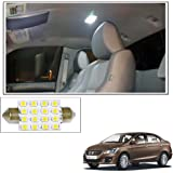 Vheelocityin 16 SMD LED Roof Light White Dome Light for Maruti Suzuki Ciaz