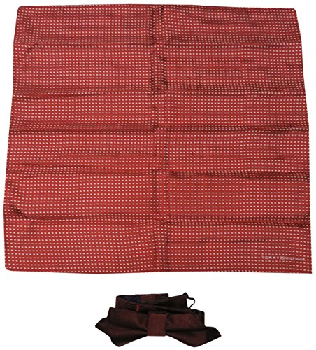 Tommy Hilfiger Pocket Square & Bow Tie Rust (Tommy Hilfiger Bow Tie And Pocket Square Set)