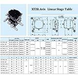 "Precision XYZR 4 Axis 2.36""x2.36"" Manual Linear"