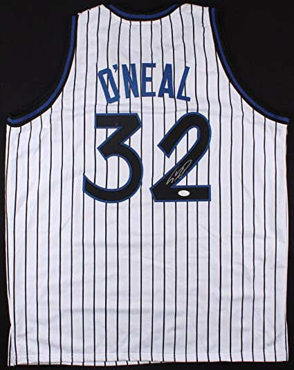 375599d01 Shaquille O Neal Autographed Signed Orlando Magic Jersey - JSA Certified