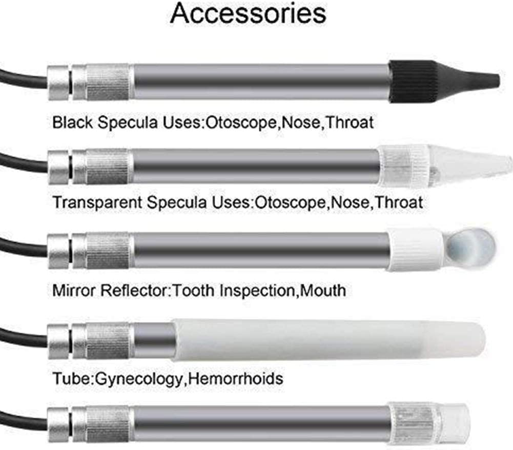 REFIT 2.0MP 500X Digital USB Image High Definition Oral Endoscope Video Microscope Camera Portable Tool Pen Home Led Adjustable Hair