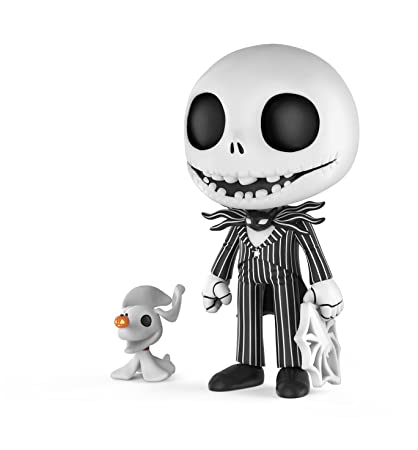 funko 5 star nightmare before christmas jack skellington with zero collectible figure multicolor - Christmas Jack Skellington