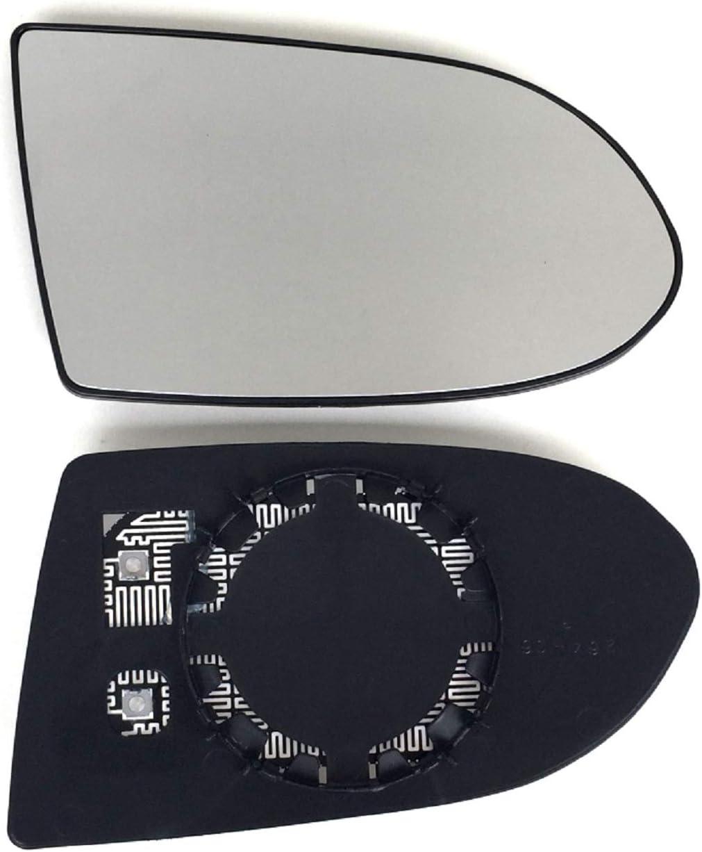 Au/ßen-Spiegel-Glas rechts beheizbar konvex Ersatzglas von Pro!Carpentis kompatibel mit Zafira A 1999-2005