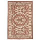 Cheap Liora Manne Veranda Mystical Rug, Indoor/Outdoor, 23″ by 35″, Terracotta Orange