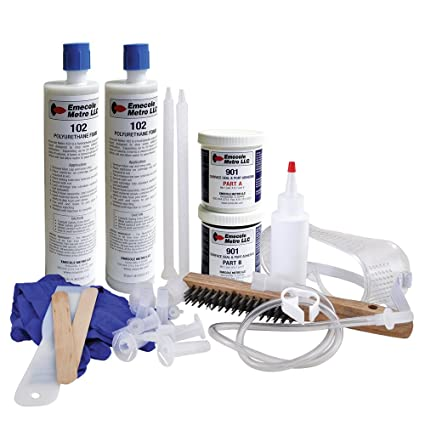 DIY Leaky Basement Wall Crack Repair Kit (10 ft ) for Homeowners - Repair  Poured Concrete Foundation Wall Cracks, the Waterproofing Contractor's