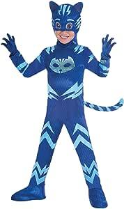 Amscan - Disfraz PJ Mask Cat Boy Luxe (3-4 años), multicolor ...