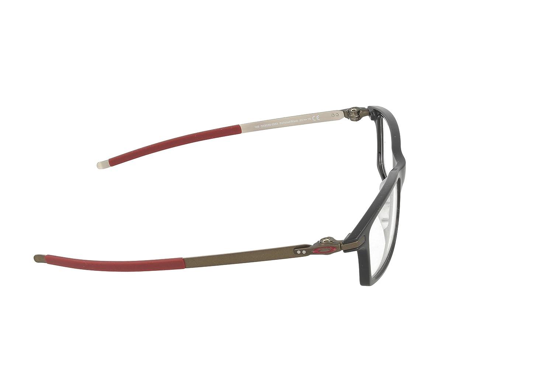 8ebea57b070eb Oakley RX Eyewear Montures de lunettes OX8050 Pitchman Pour Homme Satin  Black
