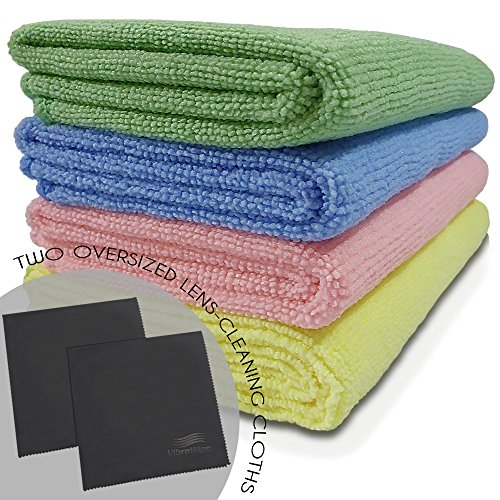 VibraWipe Microfiber Cloth All Purpose Streak Free product image