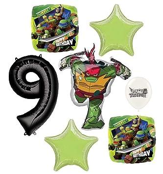 Amazon.com: Teenage Mutant Ninja Turtles Raphael 9th ...