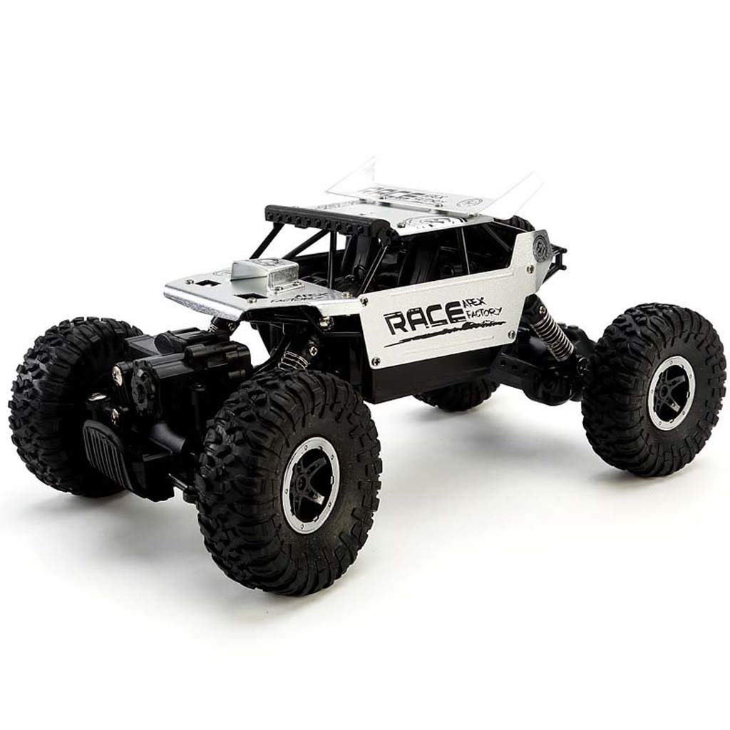 C Remote control offroad vehicle wireless charging alloy fourwheel drive climbing boy toy car