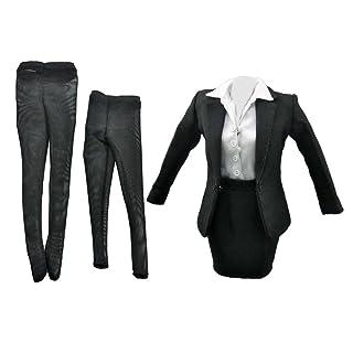 1/6 Femminile Tailleur Vestiti Abiti Per 12 Pollici Bambole Azione Figura Tuta Con Gonna Generic STK0157000894