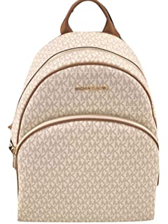 c86a870c3892 MICHAEL Michael Kors Women's Abbey Large Signature Logo Backpack, Style  35S7GAYB3B