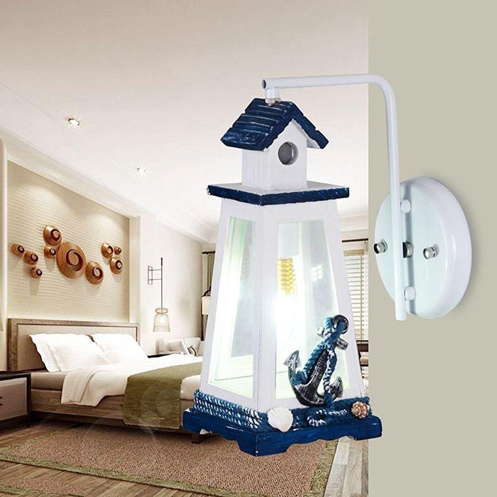 mediterrane Leuchtturm Kinderzimmer Wandleuchte kreative ...