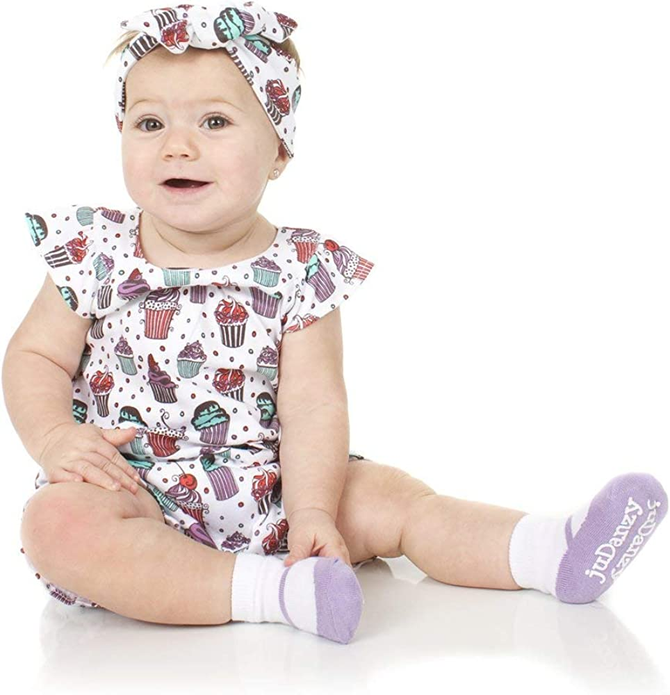Black juDanzy Mary Jane Socks for baby /& Toddlers girls Red Pink Purple with Grips