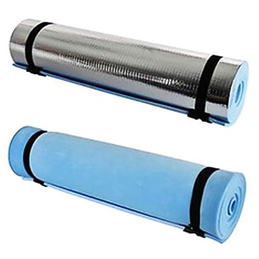 ZAK168 - Esterilla de Espuma Aislante para Acampada y Yoga (180 x 50 cm, Espuma EVA), Color como en la Imagen, tamaño Tamaño Libre, 0.02, 12.60 x 3.94 ...