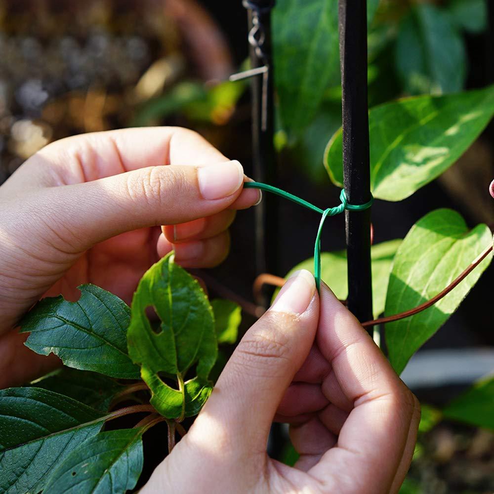 maison bureau 50 m StLlion Attaches souples en plastique pour jardinage