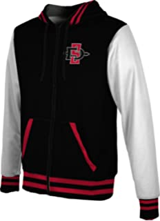 ProSphere Men/'s San Diego State University Heather Fullzip Hoodie SDSU