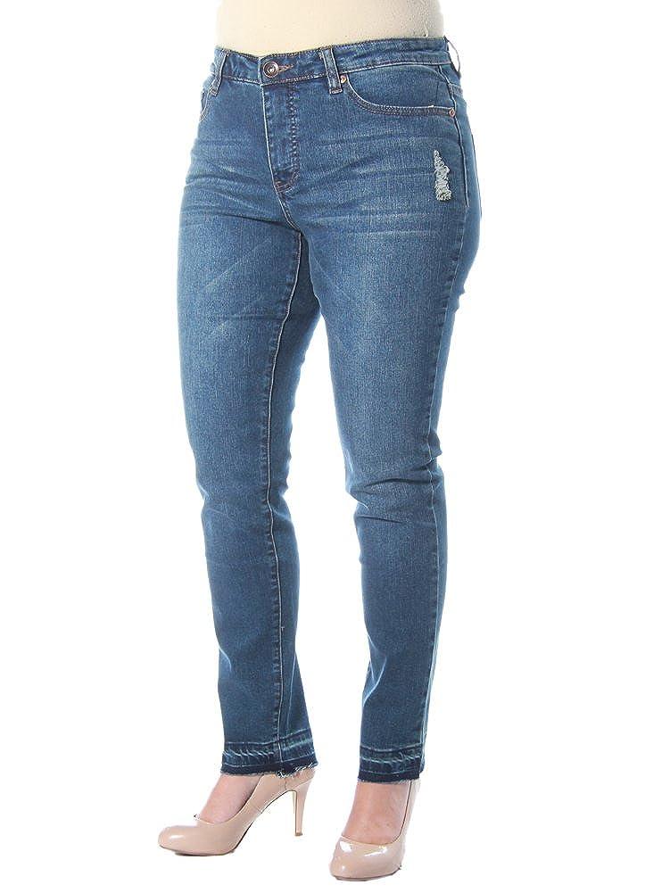 Deep Indigo Tribal Womens FivePocket 30  Fall Flirt Denim Jeans in Deep Indigo