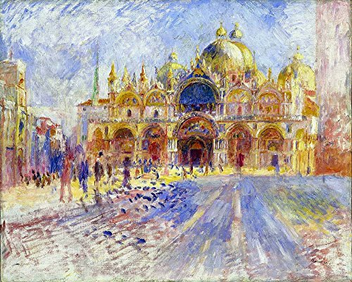 The Museum Outlet - The Piazza San Marco, Venice, 1881 - Poster (Medium) (San Marcos Outlets)