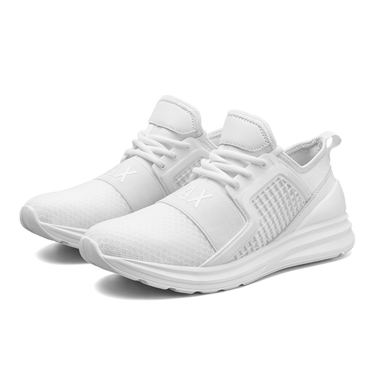 Resonda Mens Running Shoes Casual Fashion Sneakers Lightweight Athletic Walking Sport Shoes for Men B07FF3LXNW 8 B(M) US|02-white