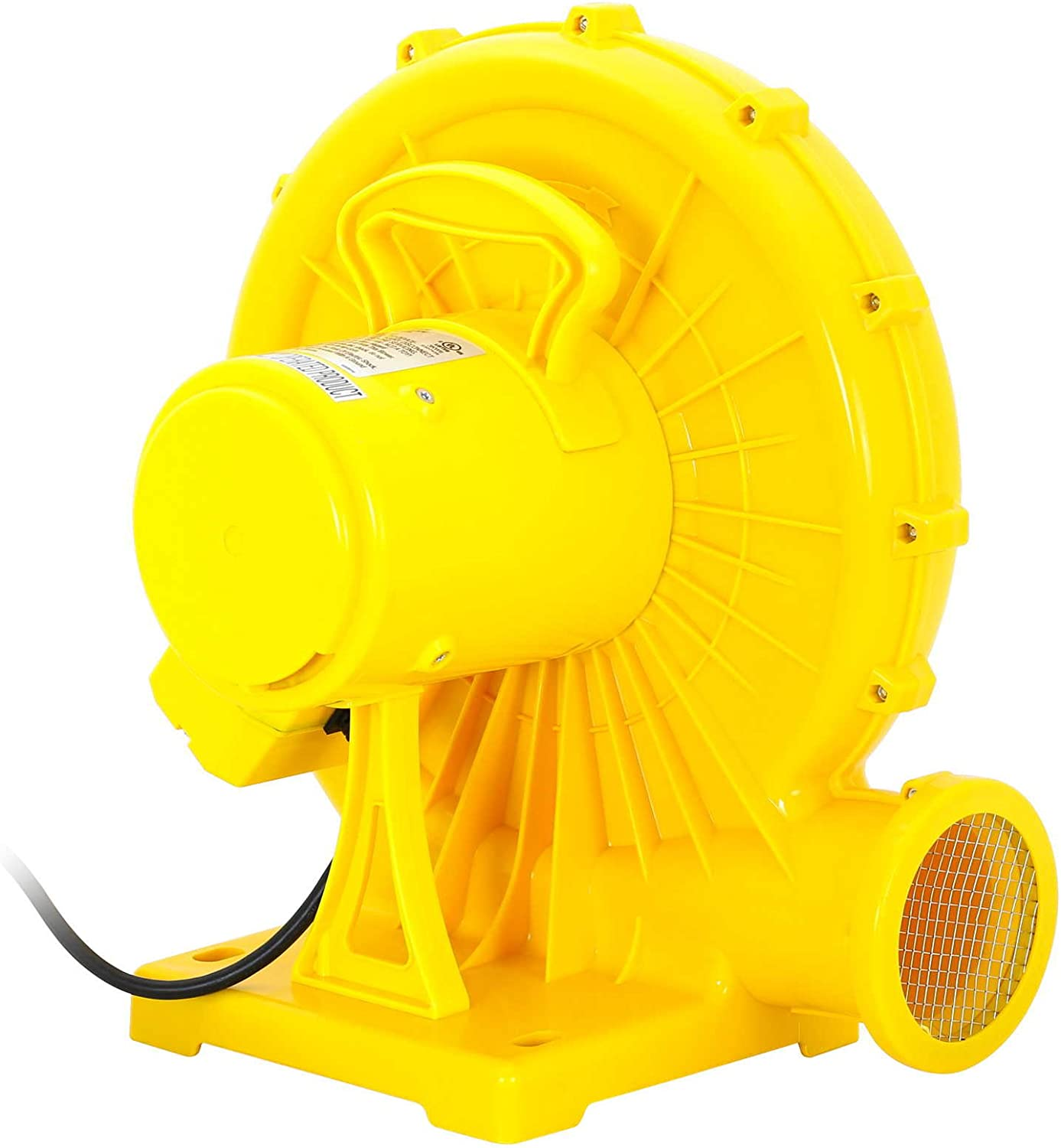 Cloud 9 Commercial Inflatable Bounce House Blower - 1,200 Watts (1.5 HP)