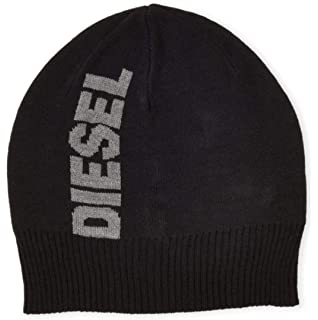 e8c0323f2bc Diesel Boys Printed Hipster Slouch Beanie Heather Gray  Amazon.co.uk ...