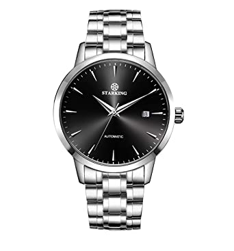 baa135d87d4 STARKING Top Brand Luxury Automatic Mens Wrist Watch AM0184 stainlessWatch  Men Casual Style Fashion Waterproof Watches