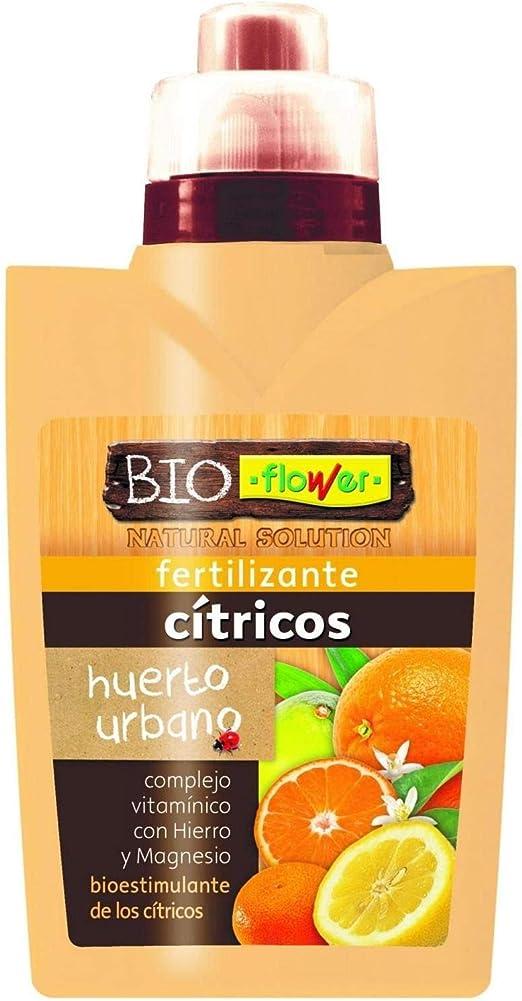 Flower Fertilizante cítricos huerto Urbano: Amazon.es: Jardín