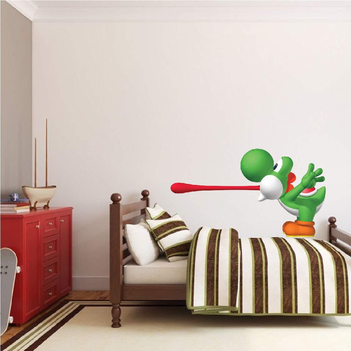Amazon.com: Prime Decals Yoshi Mario Wall Sticker for ...