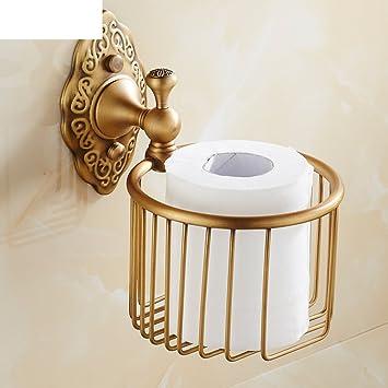 Continental antiguo cobre toalla papelera/ papel cesta toalla/soporte del papel higiénico/armazón para papel/soporte para teléfono/Caja de papel/ ...