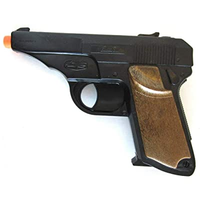 Big Game Toys~Walther PPK Semi-Auto Pistol Cap Gun~Secret Agent spy Toy: Toys & Games