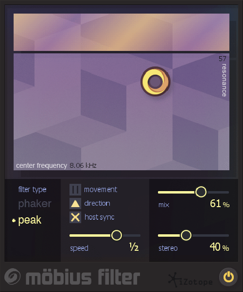 Mobius Filter: Shepard Tone Effects