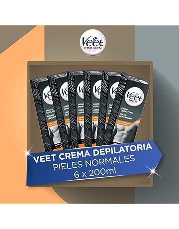 Veet for Men - Crema Depilatoria para Hombre, Pack de 6 x 200 ml