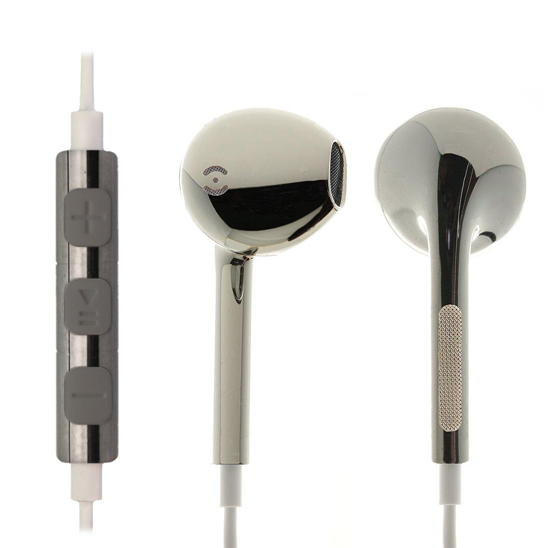 iprotect® Premium Kopfhörer in Ear in weiß - Headset für alle Modelle wie z.B. Sony, Samsung, LG, Huawei, HTC, UVM. | Sport Kopfhörer | Ohrhörer HI-80130-ds13-ES
