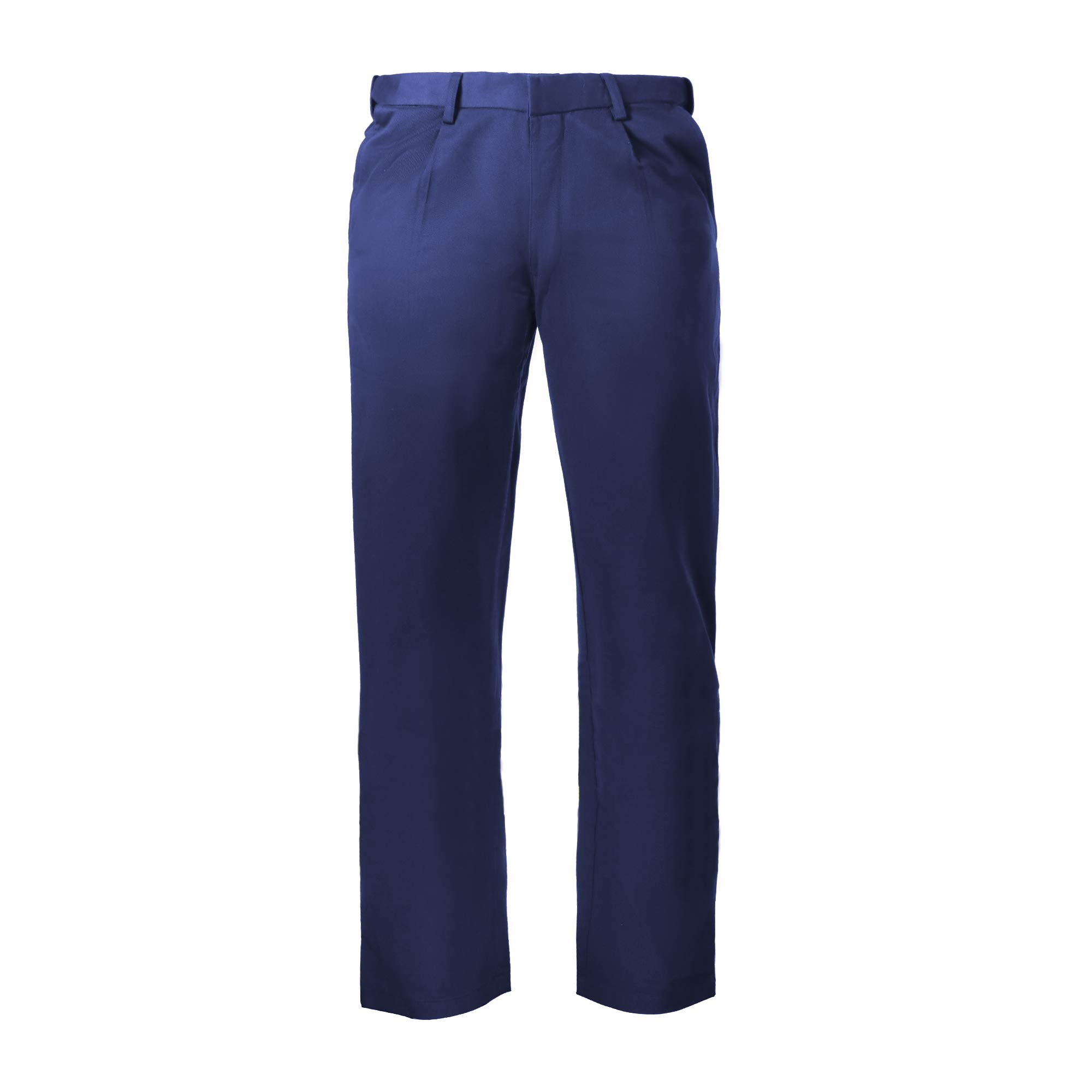 Flame Resistant FR 88% C/12% N Pant/Trouser (32W x 34L, Navy Blue) by Just In Trend (Image #1)