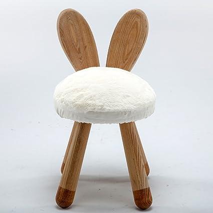Nordic sólido banco de madera para niños de heces regalo del bebé de ...