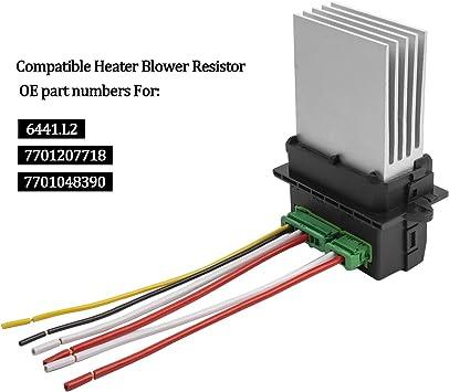 YAOPEI 6441.L2 - Resistencia del Ventilador del Motor del Soplador ...