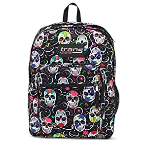 60a2de2f623c34 Trans by JanSport 17 SuperMax Backpack - Sugar Skulls
