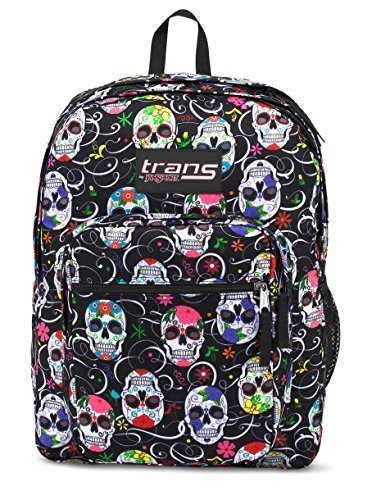 Price comparison product image Trans by Jansport 17 SuperMax Backpack - Sugar Skulls