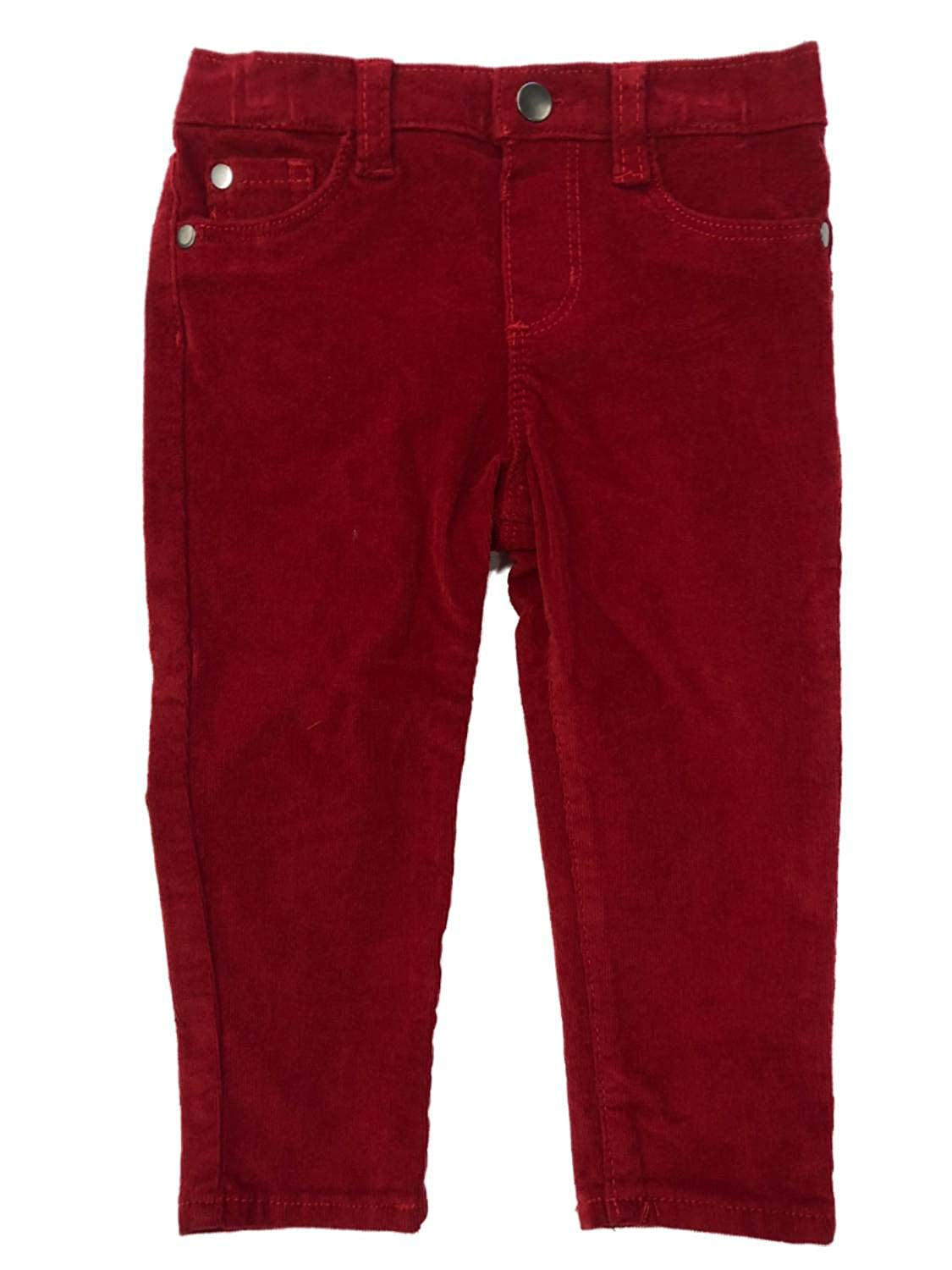 buy online hot-seeling original promo codes Amazon.com: Infant & Toddler Girls & Boys Red Corduroy Jeans ...