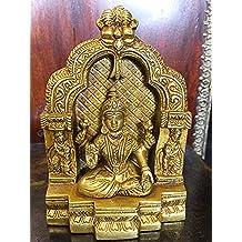 Lakshmi Brass Statue 6 Inch